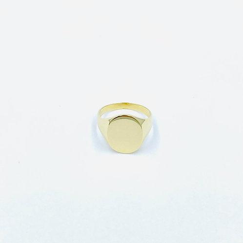 Xρυσό Δαχτυλιδι Σεβαλιέ Κ14 Π.ΔΑ001286