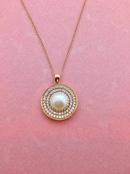 Pink Obsession White Pearl
