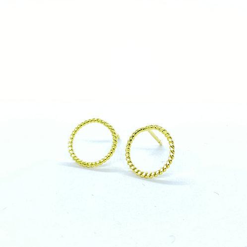 Χρυσά σκουλαρίκια Κ14 Π.ΣΚ001513