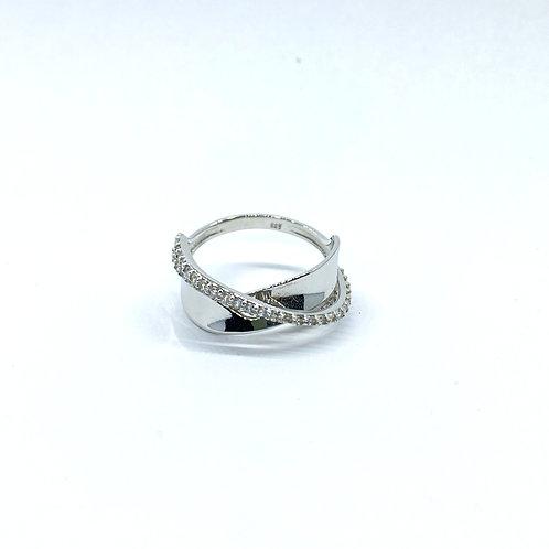 Λευκόχρυσο Δαχτυλίδι Κ14