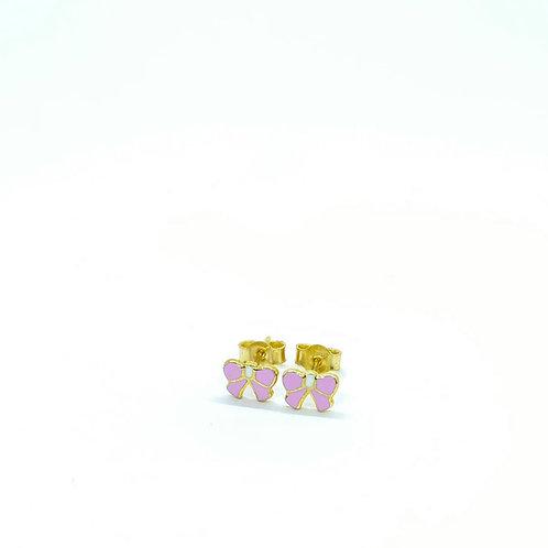 Χρυσά Σκουλαρίκια Φιογκάκια