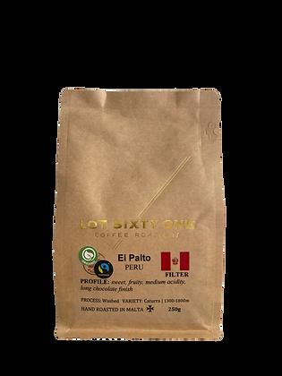Lot61 Coffee Bean Bag + Setting Manual