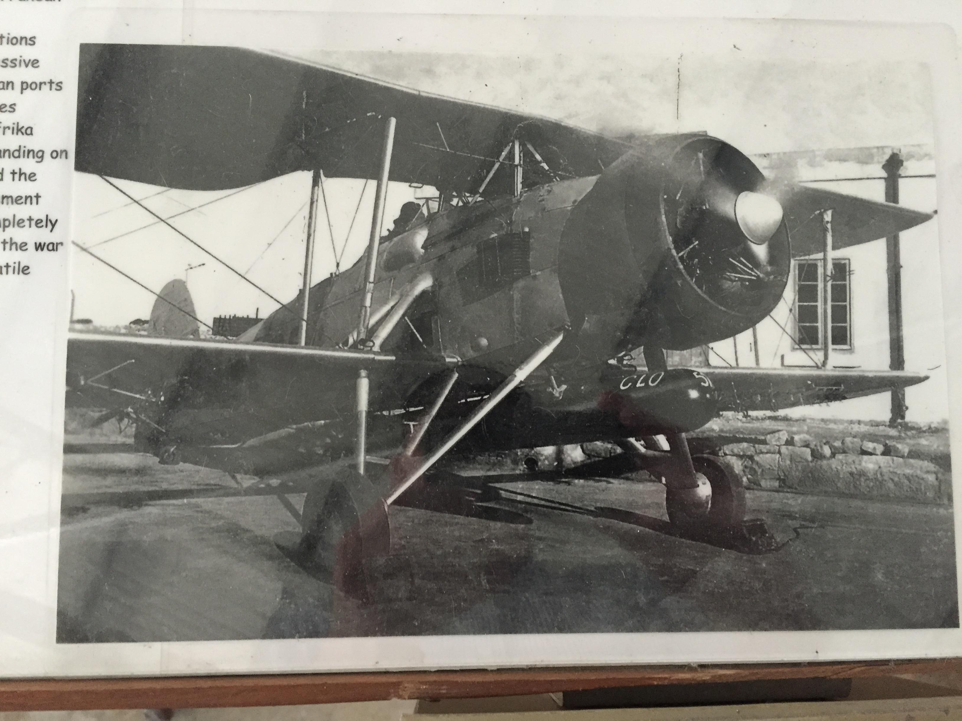 Malta Aviation Museum - Fairey Swordfish HS491