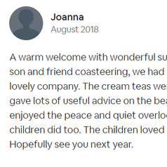 Review by Joanna | Dog-friendly Accommodation | Farm Cottage | Newquay