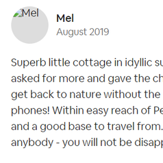 Review by Mel | Dog-friendly Accommodation | Farm Cottage | Newquay