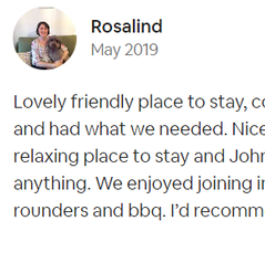 Review by Rosalind | Dog-friendly Accommodation| Farm Cottage| Newquay