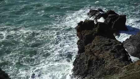 Rough sea | Wheal Coates | Things to do near Newquay | Hendra Croft Farm