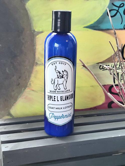Triple L Peppermint Goat Milk Lotion 8oz