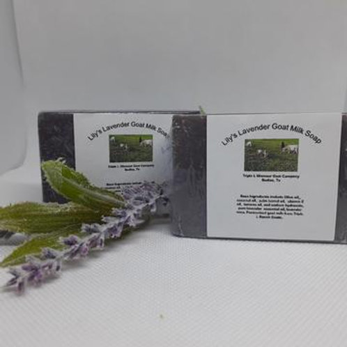 Lily's Lavender Goat Milk Soap