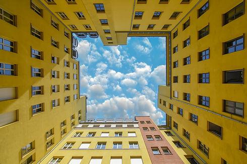 Berlin architecture - Beautiful yellow b
