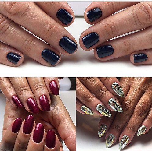 Advanced Gel Manicure with Electric File
