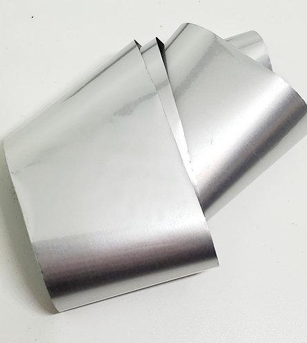 Matte Silver Foiling