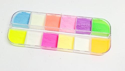 12 Neon Pigments