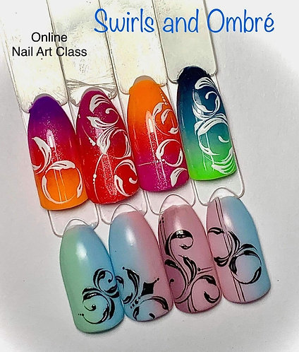 Ombre and Swirls