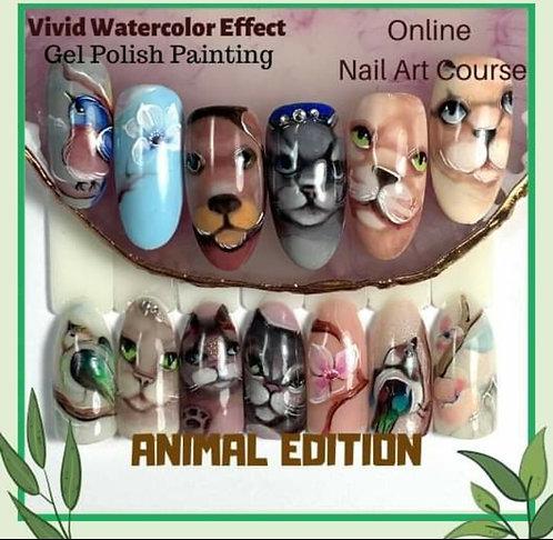 Vivid Watercolor Animal Edition