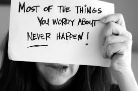 Worry for the right reasons