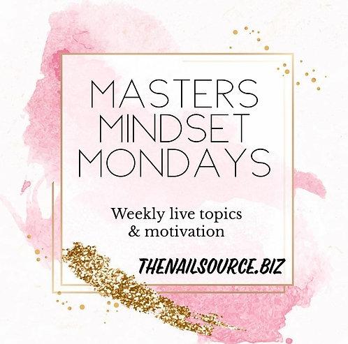 Masters Mindset Mondays