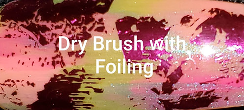 Dry Brush with Foiling