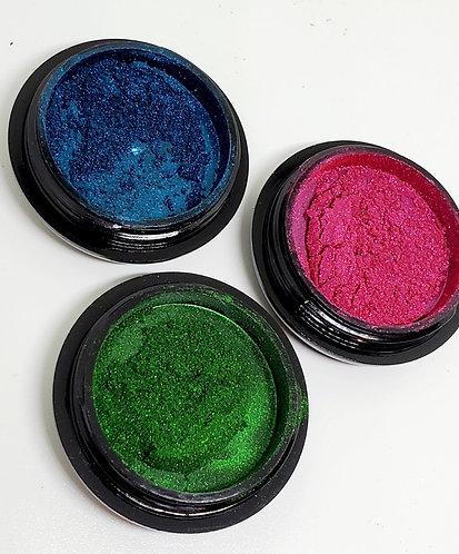 Trio Deep Rich Chrome Powders