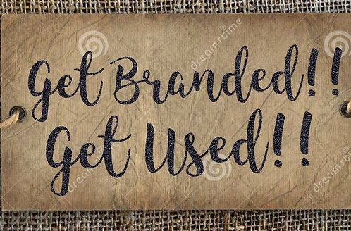 Get Branded! Get Used! Coming 2021