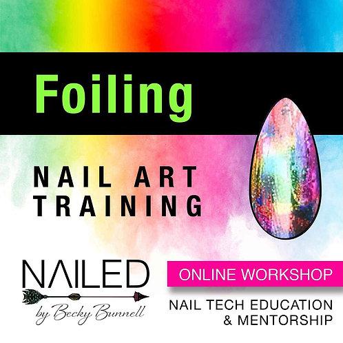 Online Foiling Nail Art Workshop