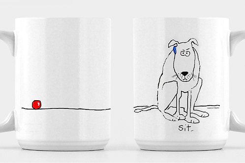 """""""Sit"""" Mug"""