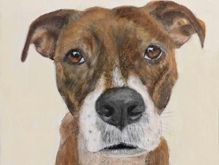 LouLou Clayton Custom Pet Portrait Artist Exhibits, Events & Portrait Special!