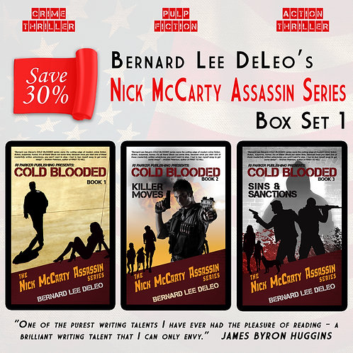 Nick McCarty Assassin Series BOXSET (Books 1-3)