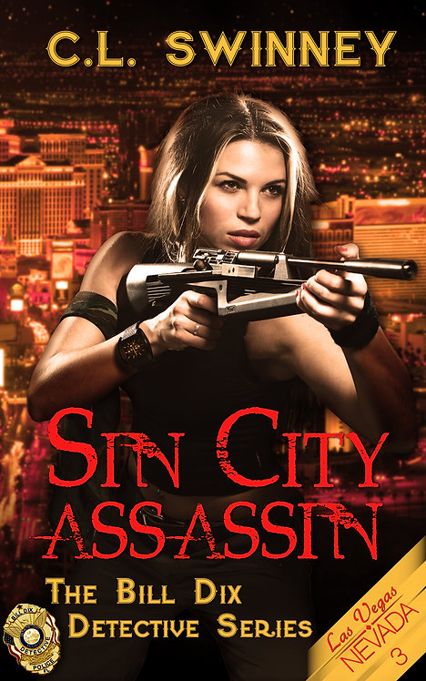 Sin City Assassin (The Bill Dix Detective Series Book 3)