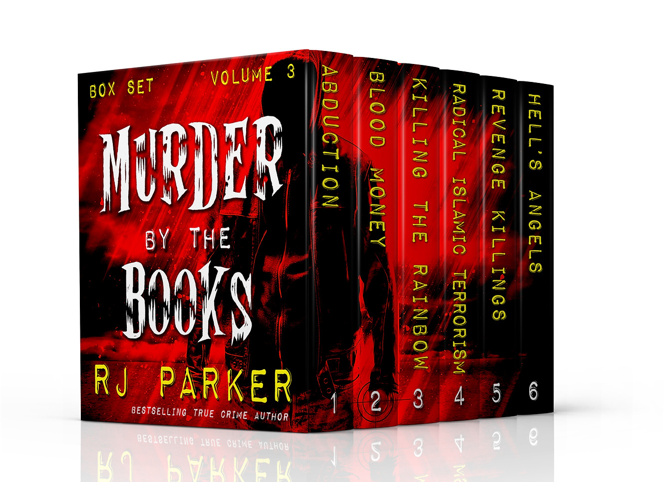 Murder by the Books Volume 3 by RJ Parke