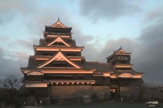 熊本城 早朝 (4)
