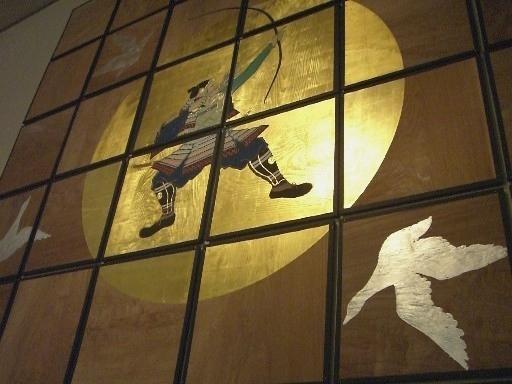 六殿宮・天井絵