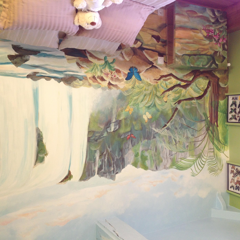 Réa fresque murale