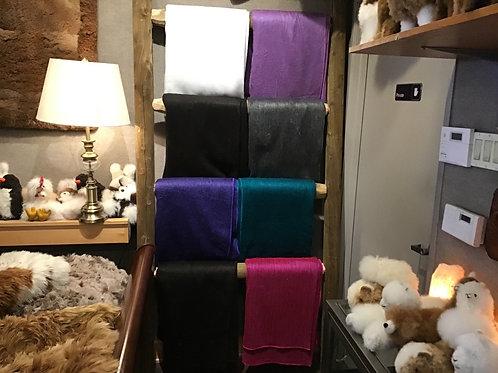 100% baby alpaca warm blankets