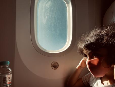 ماذا يعني ان تسافر وحيداً مع أطفال اثناء جائحة كورونا؟ (مذكرات و مقترحات)