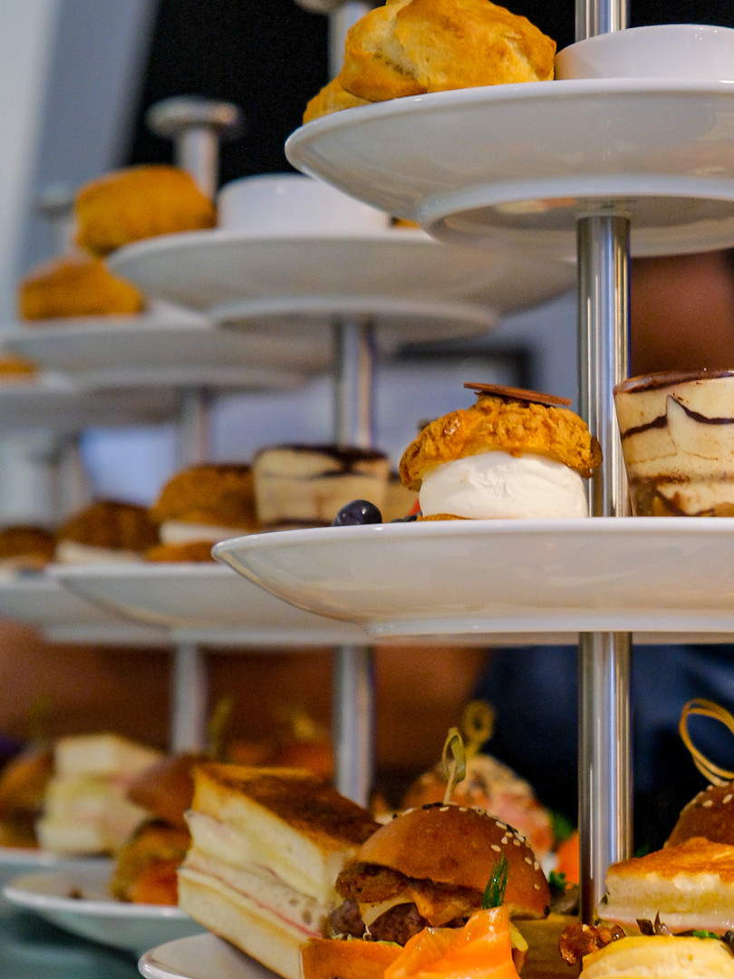 Preparation of High Tea Stands