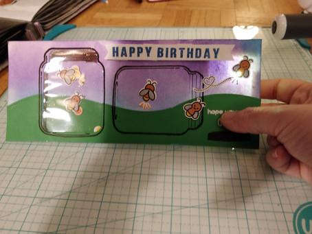 A fun interactive card.