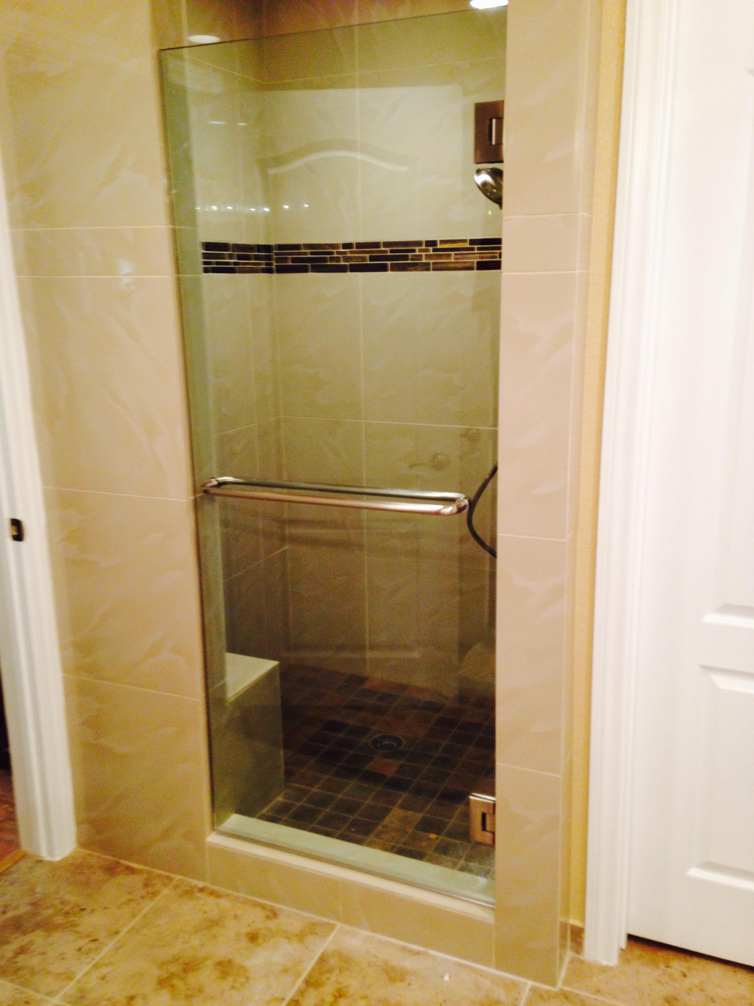 Heavy Glass Shower Door Replacement
