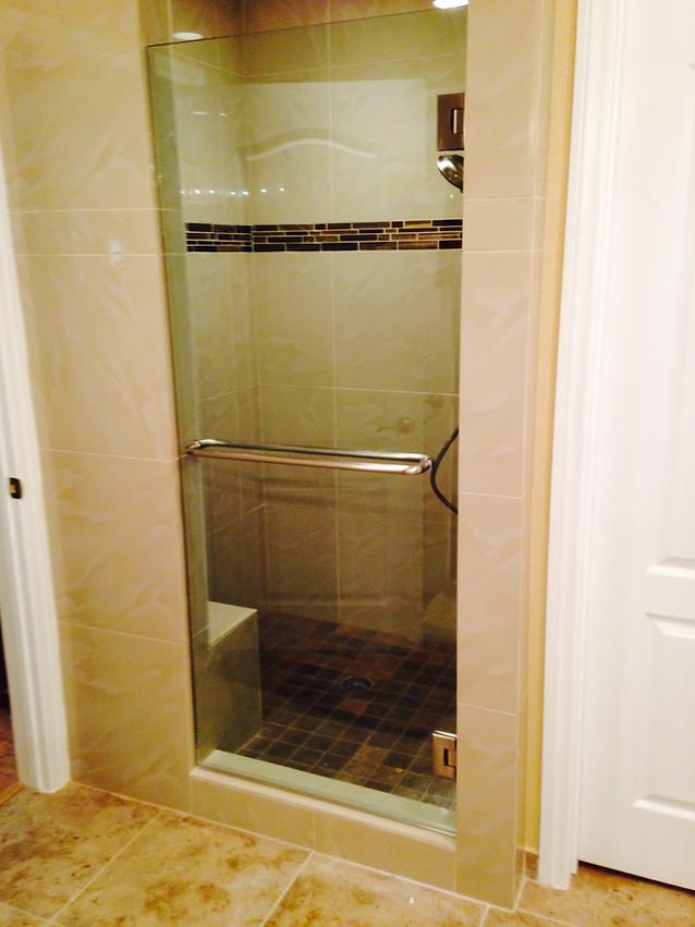 Shower Glass Door Replaced Las Vegas Replacement Glass Shower Enclosure.