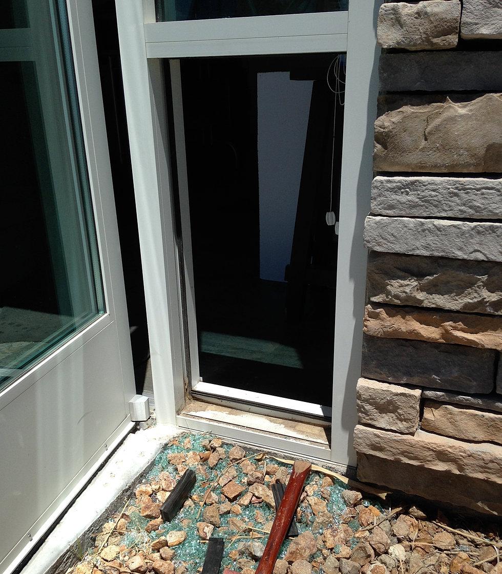 Decorating commercial door glass replacement pictures : Paramount Glass Las Vegas Commercial Contractor Door Repair Install