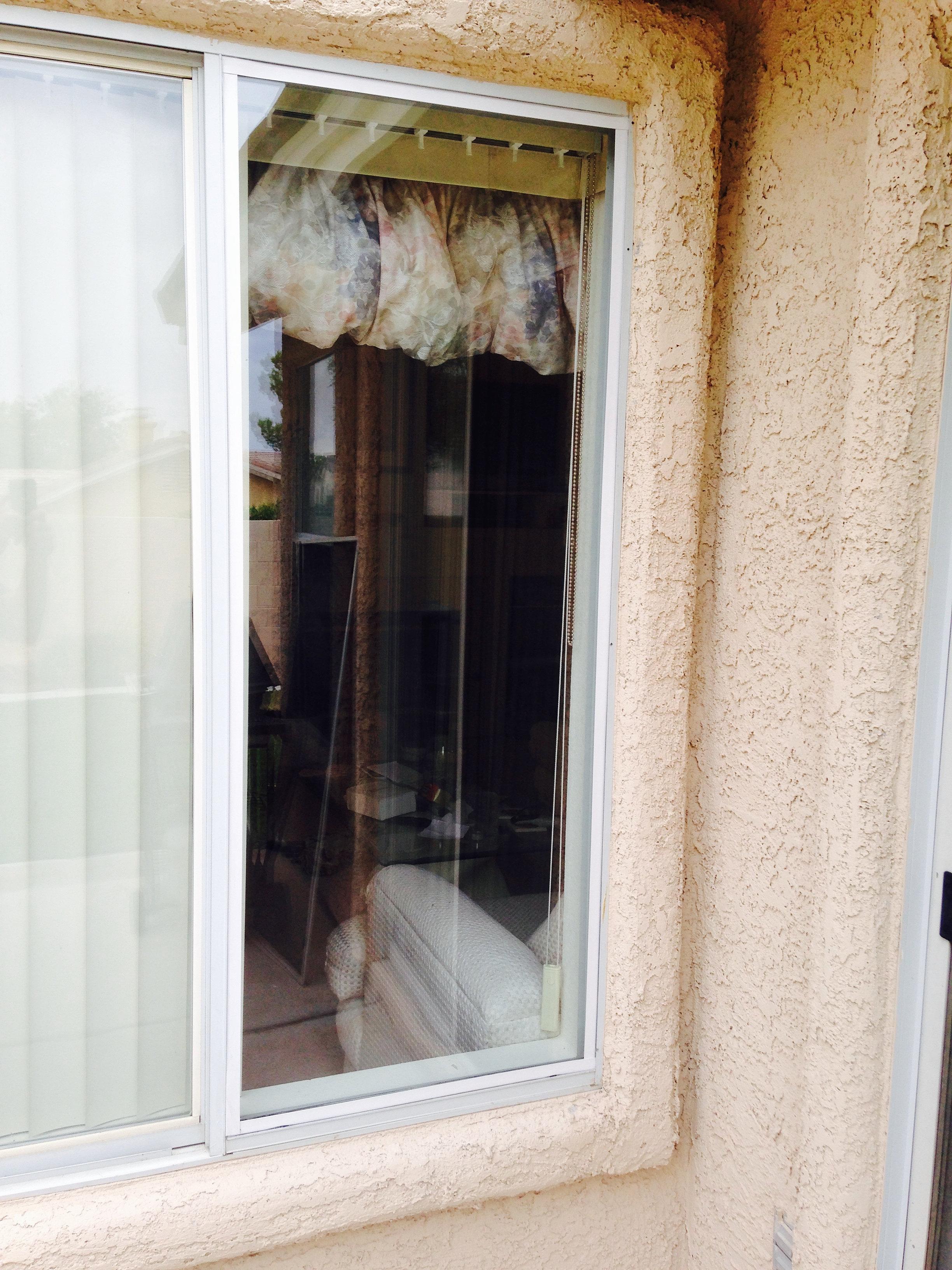 Window Glass Repair Las Vegas Replaced Patio Door