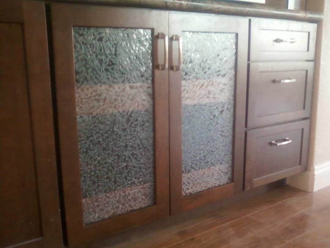 Replacement cabinet doors with glass roselawnlutheran Glass cabinet doors