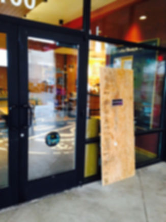 Las Vegas Commercial Door Glass Replaced