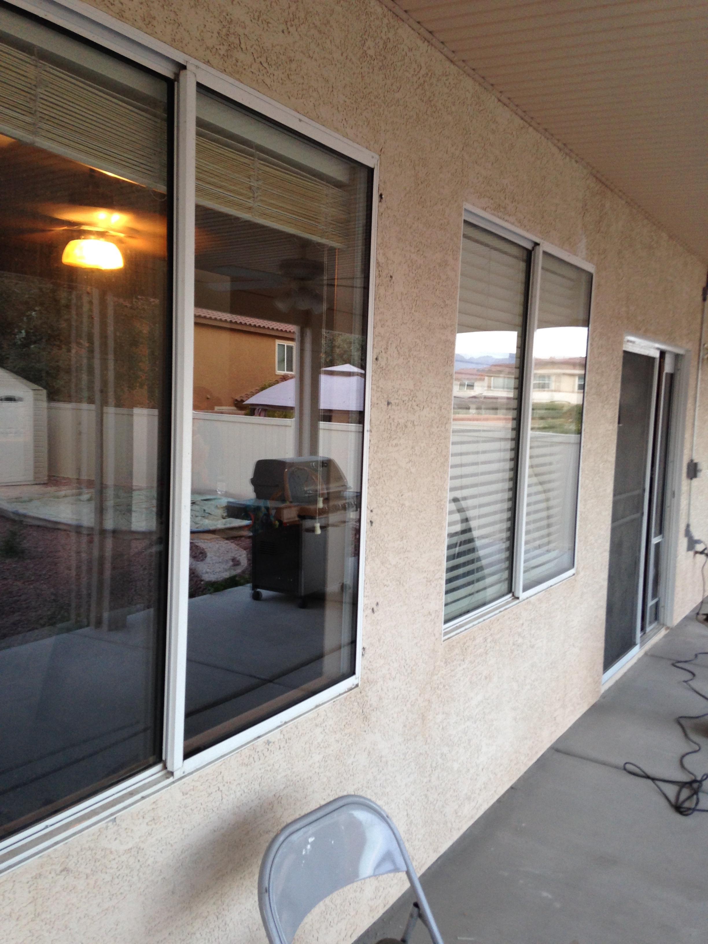 Window Repair Glass Las Vegas Patio