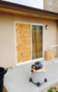 Patio Door Board Up Sliding Glass Door Las Vegas