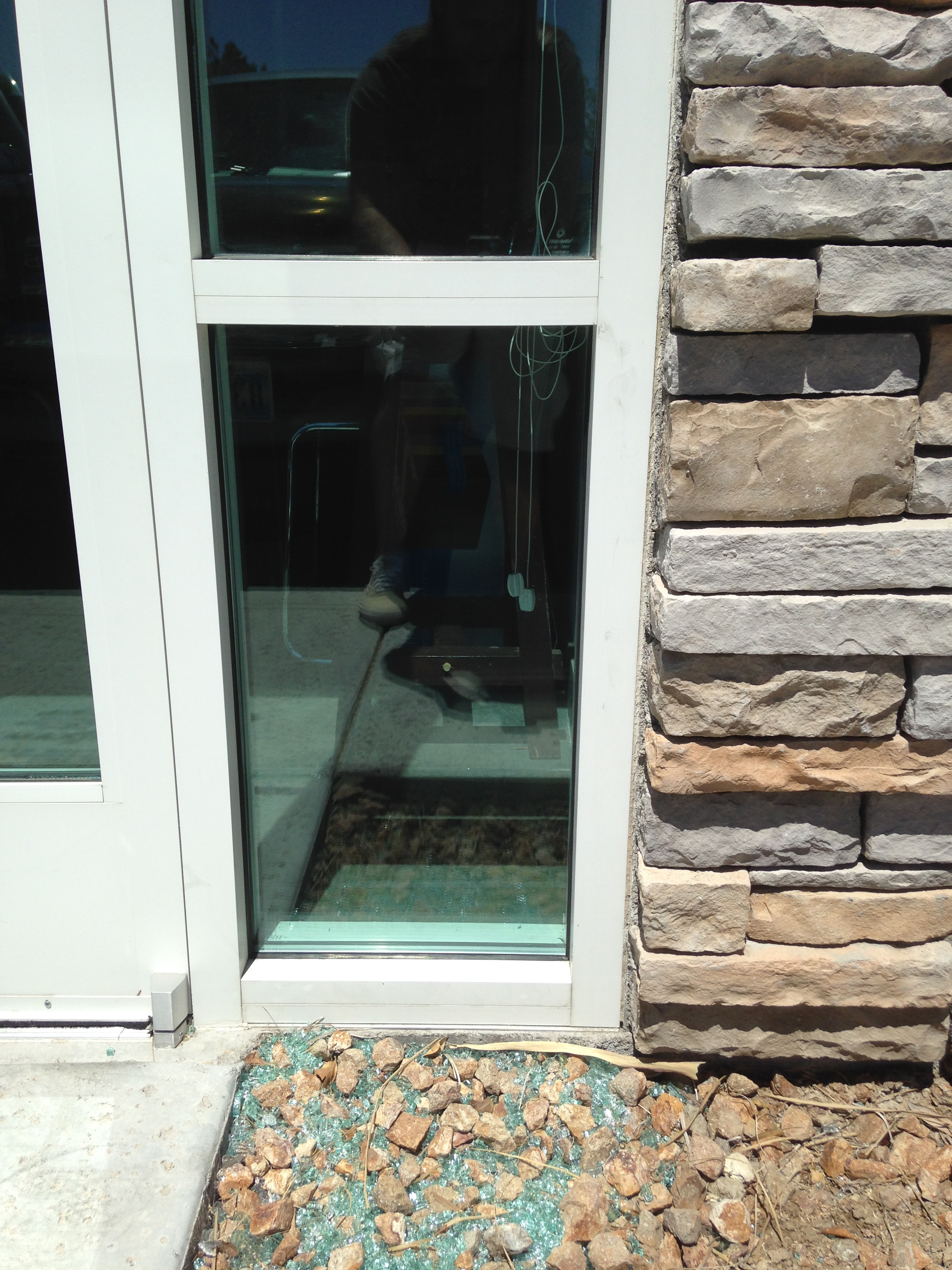 (After) Commercial Glass Repair