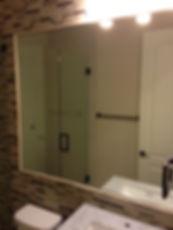 custom mirror installed, bathroom mirror repair, bathroom mirror replaced, mirror replacement, mirror repair, mirror installed, mirror installation, sell mirror, mirror wall, workout room mirror, exercise room mirror, exercise room mirror wall, wall mirror