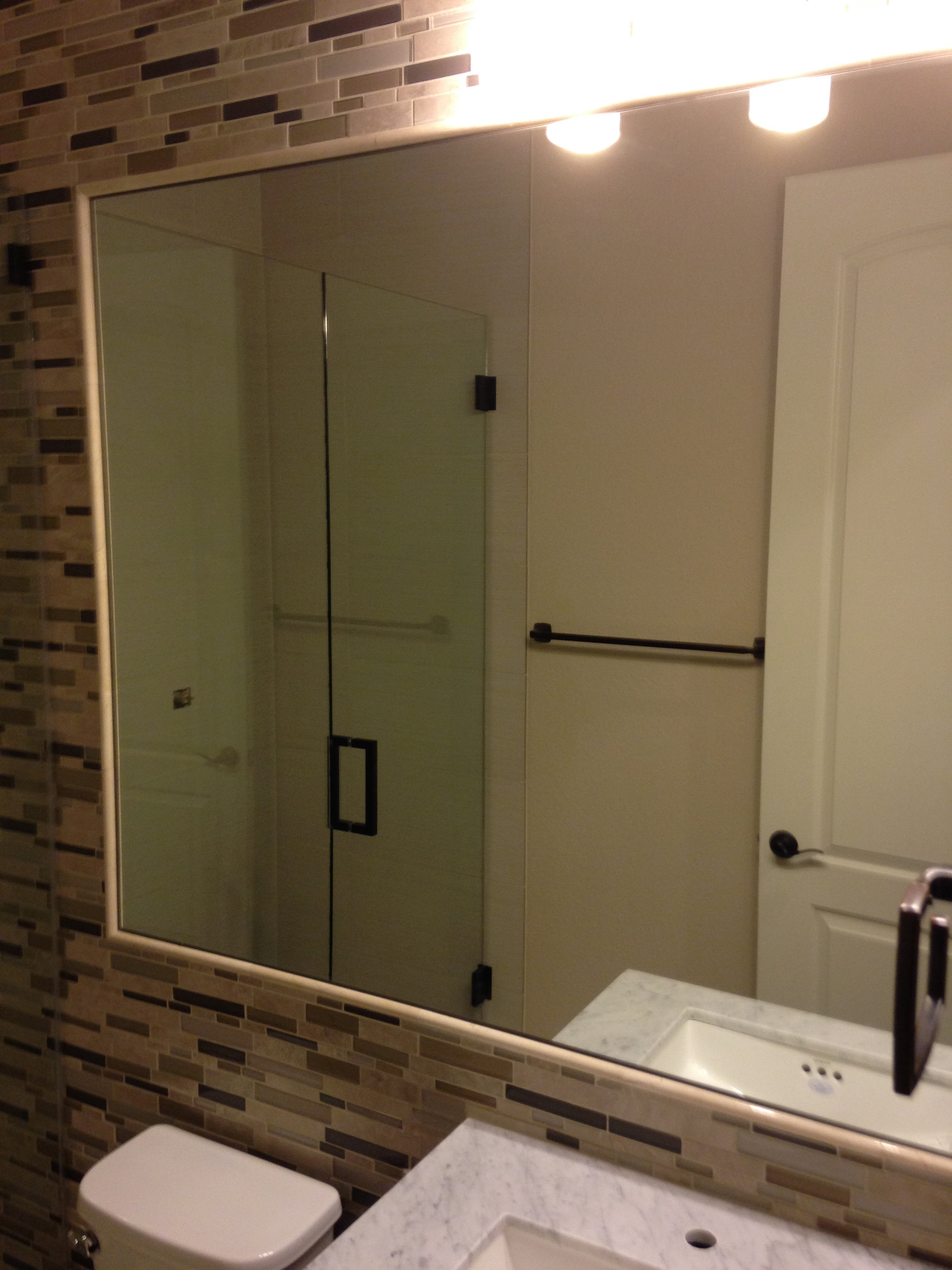 Custom Mirror Installed, Bathroom Mirror Repair, Bathroom Mirror Replaced, Mirror  Replacement, Mirror.
