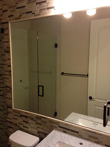 Las vegas glass repair windows door glass replaced - Replacement bathroom mirror glass ...