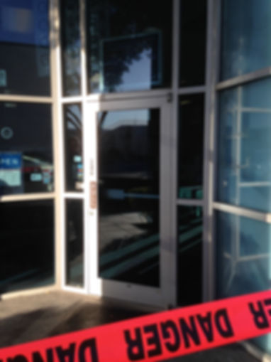 Broken Glass Repair Las Vegas Commercial Door